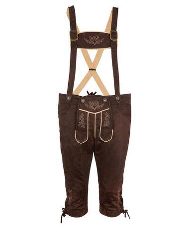 Trachtenhose mit Hosenträger (Ideal zum vollkot***) für 12,94€ @ KIK