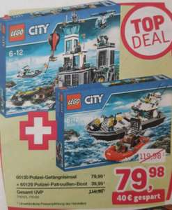 [ToysRus] 2er-Set Lego City Polizei 'TopDeal'