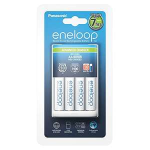 4x eneloop AA + Ladegerät für 16,46€ im Amazon Blitzangebot