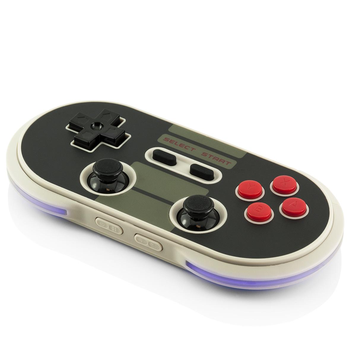 8Bitdo Bluetooth Gamepad NES30 Game Controller Retro Apple iOS Android Windows