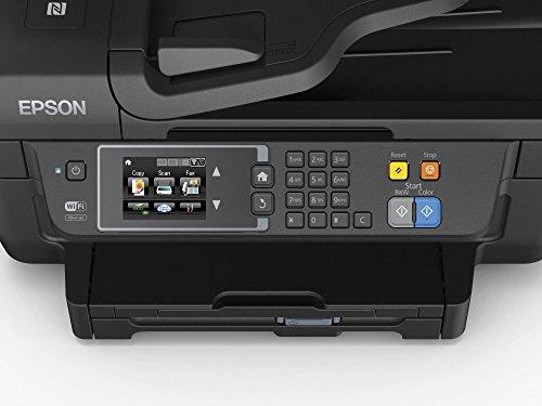 Epson WorkForce WF-2760DWF 4-in-1 Multifunktionsdrucker (Drucken, scannen, kopieren, faxen, Duplex, WiFi, Dokumenteneinzug) schwarz für 71,19 statt 85,97