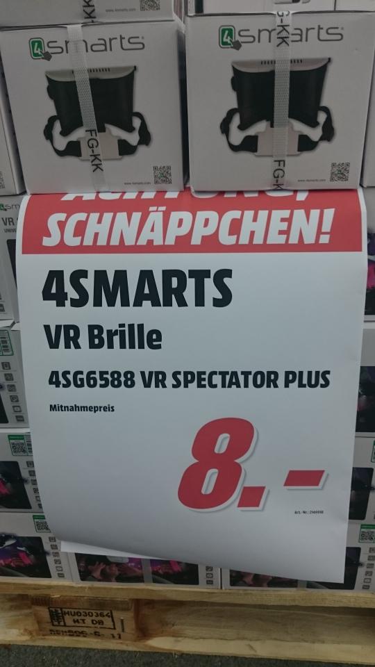 [Lokal Media Markt Bruchsal] 4smarts - VR-Brille- Spectator PLUS weiß