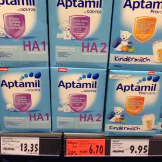 Aptamil HA 2 - lokal Kaufland Dorsten - 49% reduziert