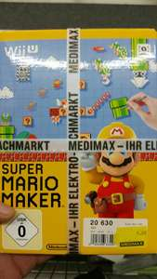 (LOKAL) Medimax Regensburg - SUPER MARIO MAKER (WiiU) für 7,00 Euro (wenige Exemplare)