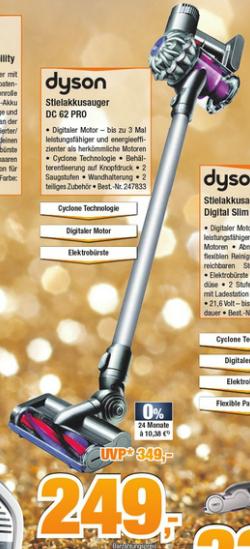 Dyson DC 62 Pro