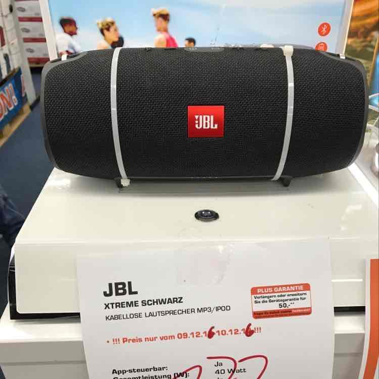 JBL Xtreme für 177€ bei Saturn Magdeburg