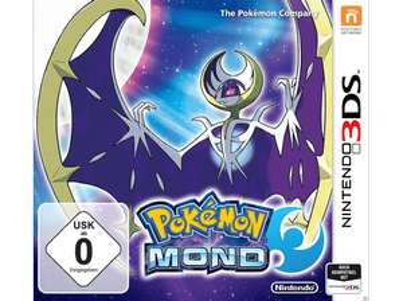 Pokemon Mond oder Sonne Nintendo 3DS ( Saturn )