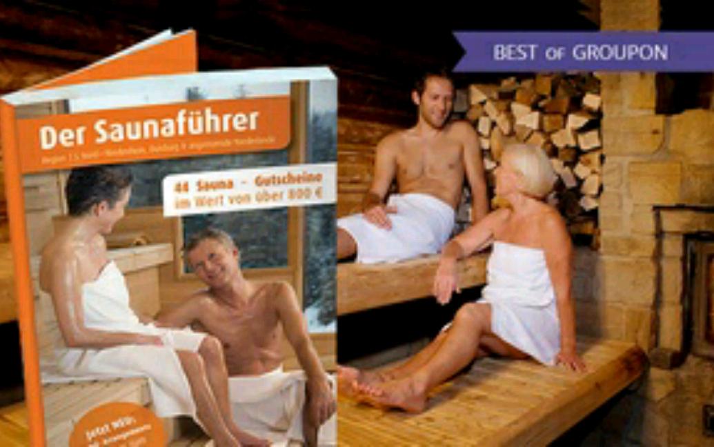 Saunaführer für verschiedene Regionen 17,90 statt 24,90