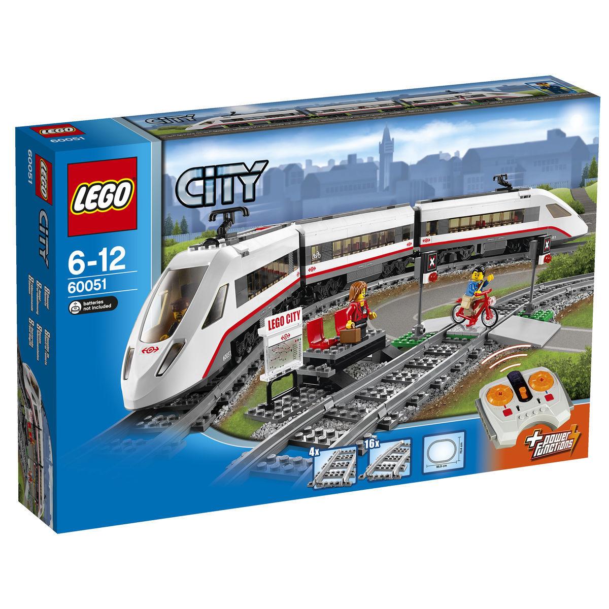 LEGO® City 60051 - Hochgeschwindigkeitszug für ca. 71,99 EUR mit 20% Gutschein bei [Karstadt]