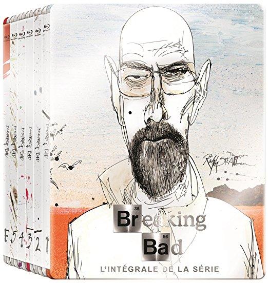 Breaking Bad - Die komplette Serie (Art Collection Steelbook Blu Ray) mit O-Ton inkl. Vsk für 40,10 € > [amazon.fr]