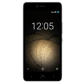 """[NBB] BQ Aquaris U Plus 32GB 3GB RAM Schwarz/Anthrazit [12,7cm (5"""") HD-Display, Android 6.0.1, 1,4 GHz Octa-Core CPU, 16MP Kamera]"""