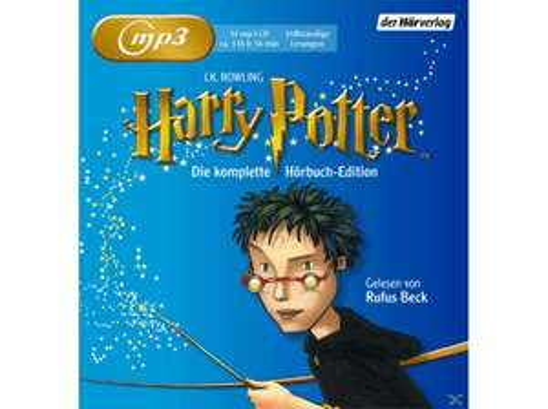 Harry Potter Komplette Hörbuch Edition (14 CDS/Mp3) für 49,99 € @ saturn . DE