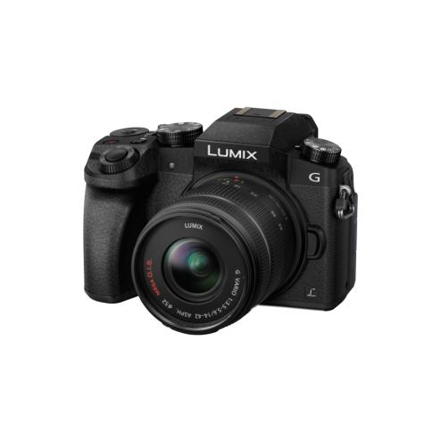 Panasonic LUMIX DMC-G70 + LUMIX G VARIO 14-42 / 3.5-5.6 Aspherical Mega O.I.S. – schwarz  -50€ Cashback für 499€