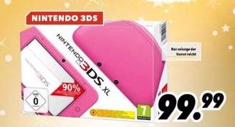 Nintendo 3DS XL in Pink - MediMax & Müller