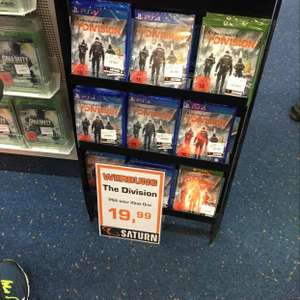 Tom Clancy's The Division bei Saturn in Wuppertal lokal