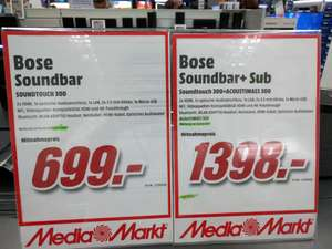 MM am Dom Köln City Bose Soundbar + Acoustimass 300