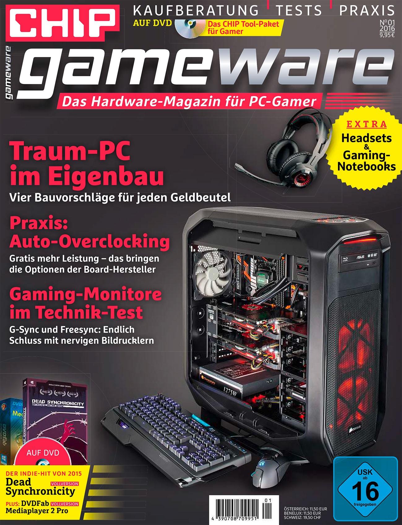 CHIP Gameware 01/16 ePaper kostenlos [CHIP-Kiosk]