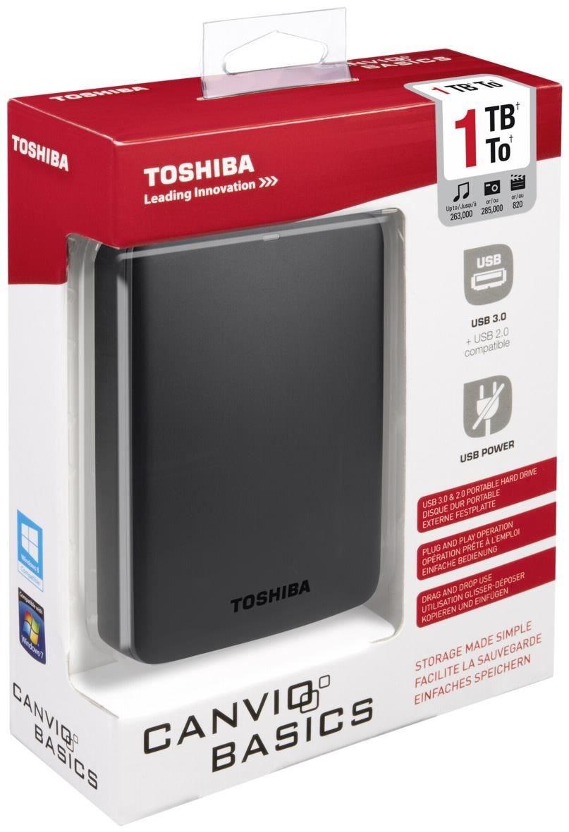 [STAPLES] Toshiba 1TB extern Festplatte (in der Filiale nicht online)