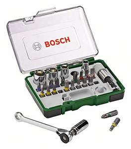 Lokal: REWE Center Bruchsal: Bosch Mini Ratschenset 27-Teilig
