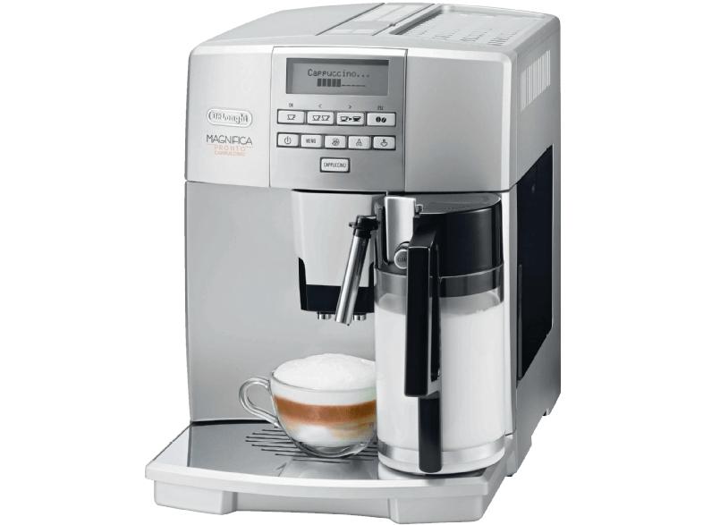 [Saturn Super Sunday] DELONGHI ESAM 04.350 S, Kaffeevollautomat, 1.8 Liter Wassertank, 15 bar, Flüsterkegelmahlwerk, für 399 € (VSK-frei)