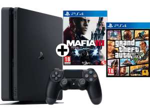 [MediaMarkt.at] SONY PlayStation 4 Slim Konsole 500 GB (CUH-2002) + Mafia 3 + GTA V für 253,99€