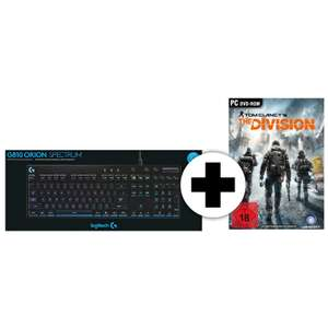 [Mediamarkt onlineshop] Logitech G810 Orion Spectrum SE + Tom Clancy's The Division Gaming Tastatur