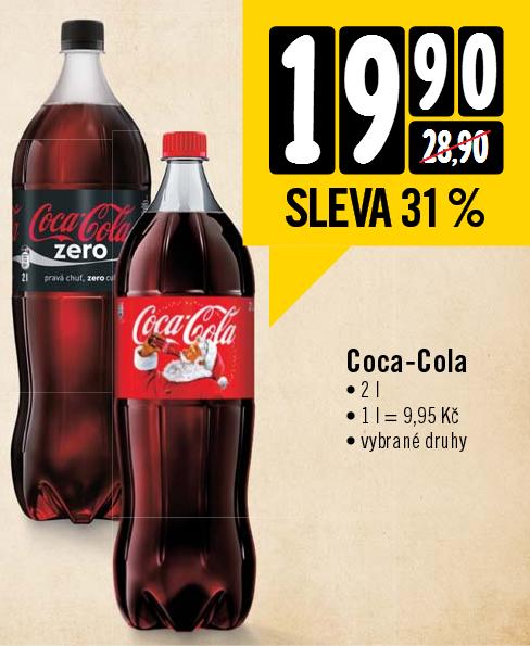 Coca Cola bei Albert in Tschechien für 0,36€/Liter