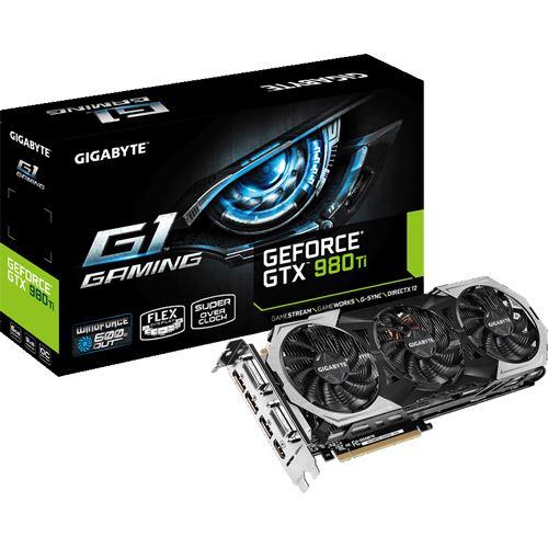 [MindStar/Mindfactory] 6GB Gigabyte GeForce GTX 980 Ti Gaming G1 Aktiv PCIe