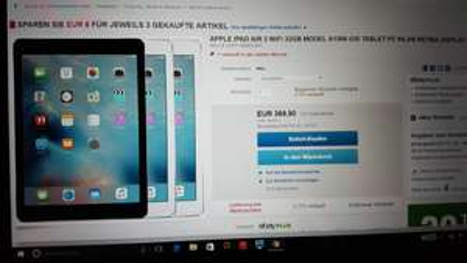 eBay WOW iPad Air 2 WiFi 32 GB