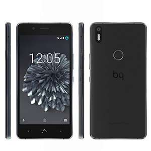 "[Amazon Prime] BQ Aquaris X5 Plus 32GB 3GB RAM Anthrazit/Schwarz (12,?7cm (5"") FHD Display, 1,8 GHz Octa-Core Snapdragon 652, 3200mAh, Fingerprint-Sensor, Dual-Sim, Android 7.0 Nougat geplant) für 229,00 €"