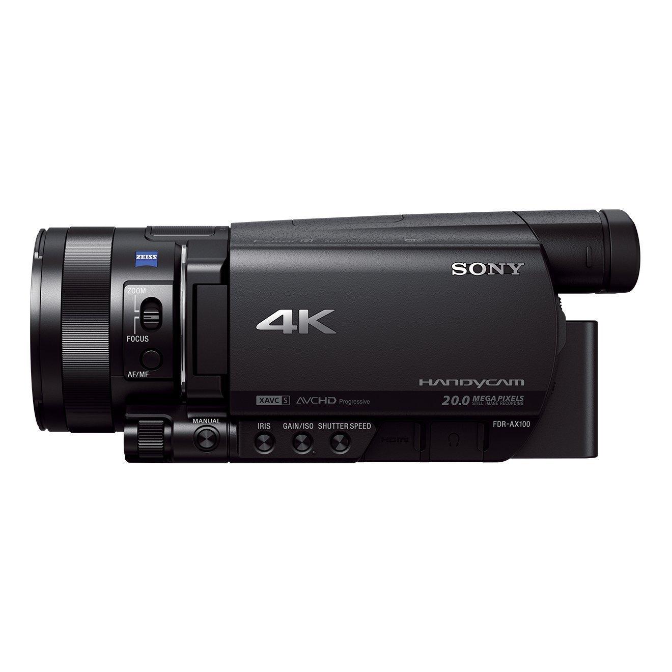 Statt bislang 1699€: Sony FDR AX100 - Prosumer-Camcorder für Liebhaber! AX53 und AX33 ebenfalls reduziert!