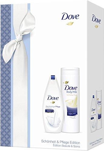 [Amazon] Dove Geschenkset - Bodymilk 400ml & Cremedusche 250ml - 2,11€