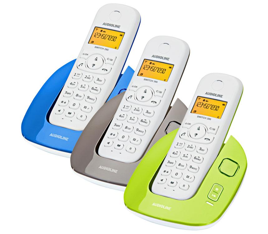 [Kaufland] DECT-Telefon Audioline Switch 280 für 19,99 €!