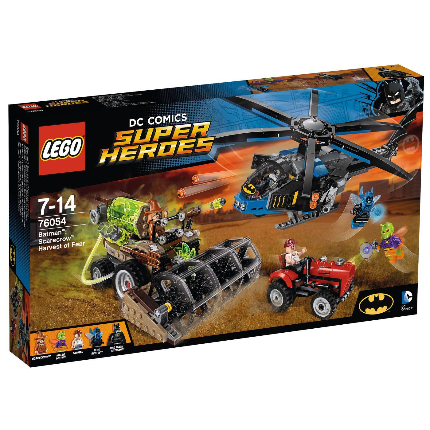LEGO DC Universe Super Heroes Batman: Scarecrows gefährliche Ernte 76054 für 44,99€ + weitere Lego-Sets bei [Jako-O]