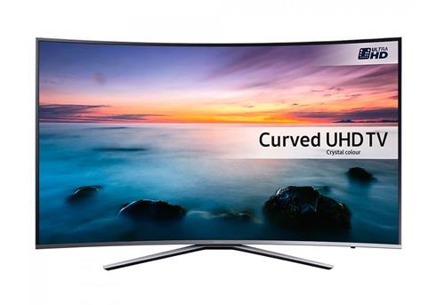 "[0815] Samsung UE78KU6500 silber 78""/?198cm • Auflösung: 3840x2160 • Panel: LCD, LED (Edge-lit, Dimming), gebogen (4.2m Radius), HDR • Bildwiederholfrequenz: 1600Hz (interpoliert)"