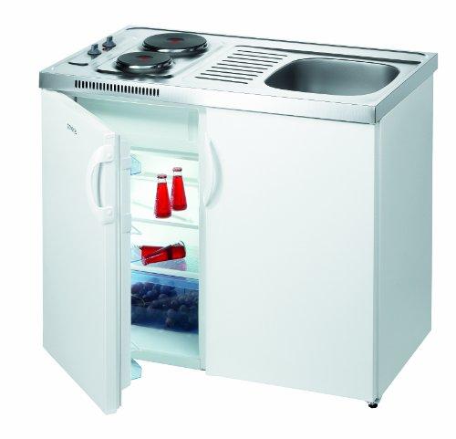 Gorenje MK 110 S-R 41 Mini-Küchen / 100 cm / Pantry Küche / weiß [Energieklasse A]