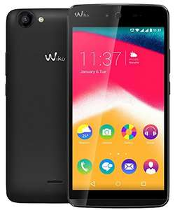 [Amazon] Wiko 9531 Rainbow Jam Smartphone, 5 Zoll HD IPS-Display, 1,3 GHz Quad-Core Prozessor, 8GB interner Speicher, 1GB RAM, Android 5.1 Lollipop) schwarz