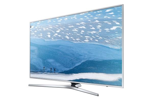 [Mars-Media] Samsung UE49KU6409UXZG, LED Fernseher, 123 cm (49 Zoll), 2160p (4K Ultra HD), Smart-TV, silberfarben, EEK A