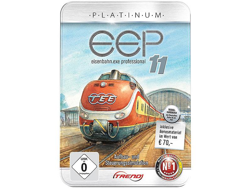 [Pearl] EEP Eisenbahn.exe 11 Platinum in Metallbox für 4,90€