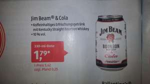 [Aldi] Jim Beam Bourbon Cola 330ml Dose