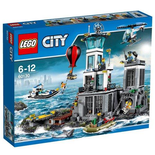 Amazon Blitzangebot Lego City - Polizeiquartier auf der Gefängnisinsel (60130)  Vergleichspreis 62,94 Euro