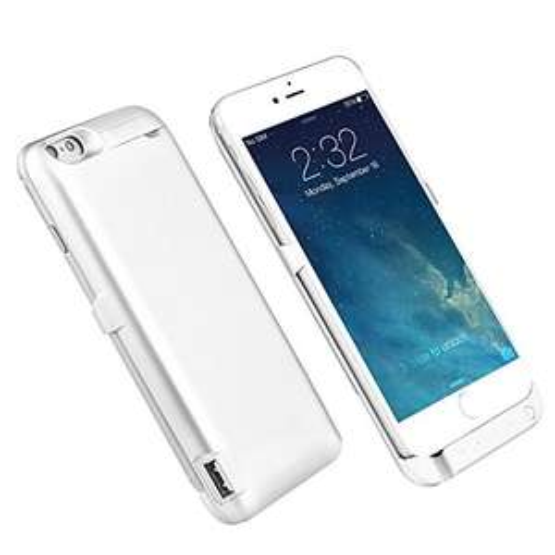 7000mAh Akkuhülle für Iphone 6 / 6s - weiß