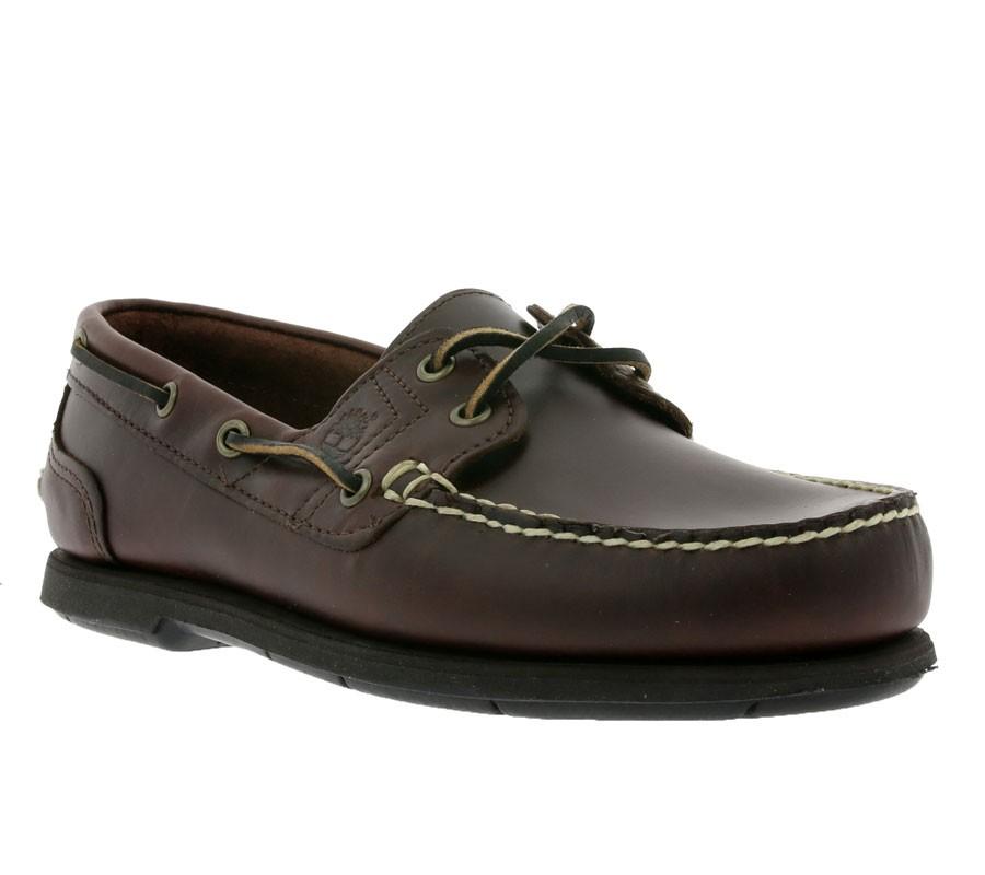 [Outlet46] Timberland Icon Classic 2-Eye Bootsschuh Leder Braun / Größen 42 - 46