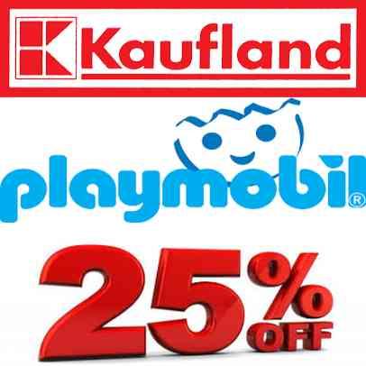 25% auf Playmobil-Sortiment @ Kaufland [lokal NSU]