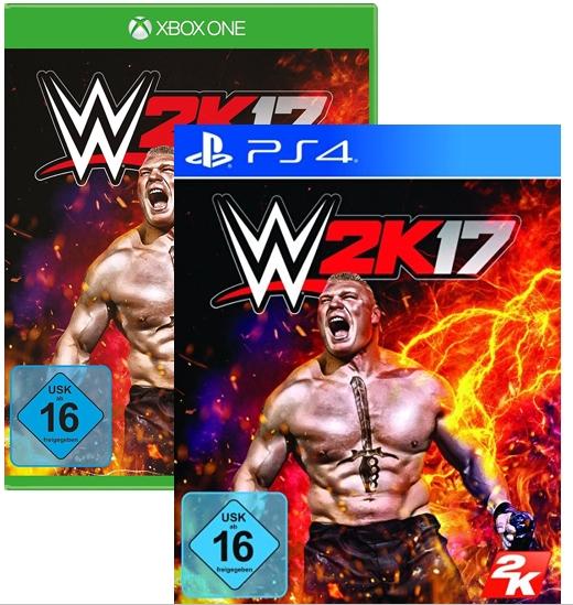 [Müller Offline] WWE 2K17 für PS4 / Xbox One (Adventskalender) nur HEUTE 13.12.2016 durch Cashback effektiv  29,10 € bzw. 26,19 € (durch 10% Rossmann Coupon)
