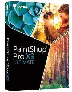 [Notebooksbilliger] Corel PaintShop Pro X9 Ultimate für 47,98 €