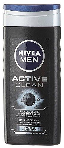 [Amazon]  Nivea Men Pflegedusche Active Clean Duschgel (6 x 250ml) für 4,34€ im Sparabo