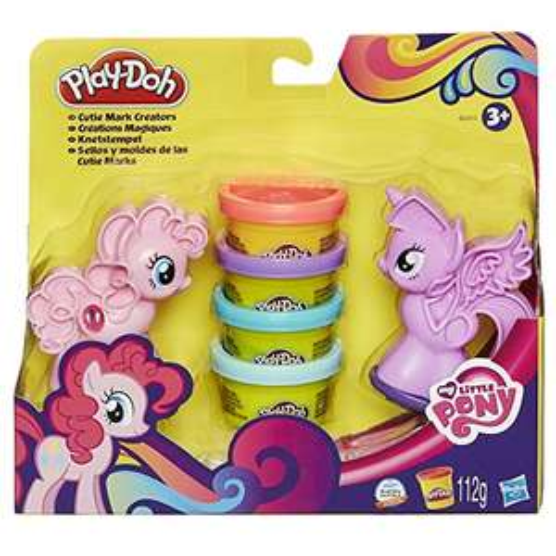Amazon Plus Produkt Hasbro Play-Doh B0010EU6 - My Little Pony Knetstempel, Knete