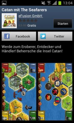 Android-Spiel Catan kostenlos bei Samsung Apps