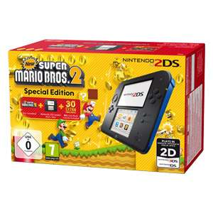 Nintendo, 2DS inklusive New Super Mario Bros 2 / ONLINE